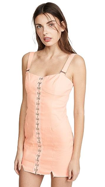 Photo of  For Love & Lemons Monika Hook Front Mini Dress - shop For Love & Lemons dresses online sales