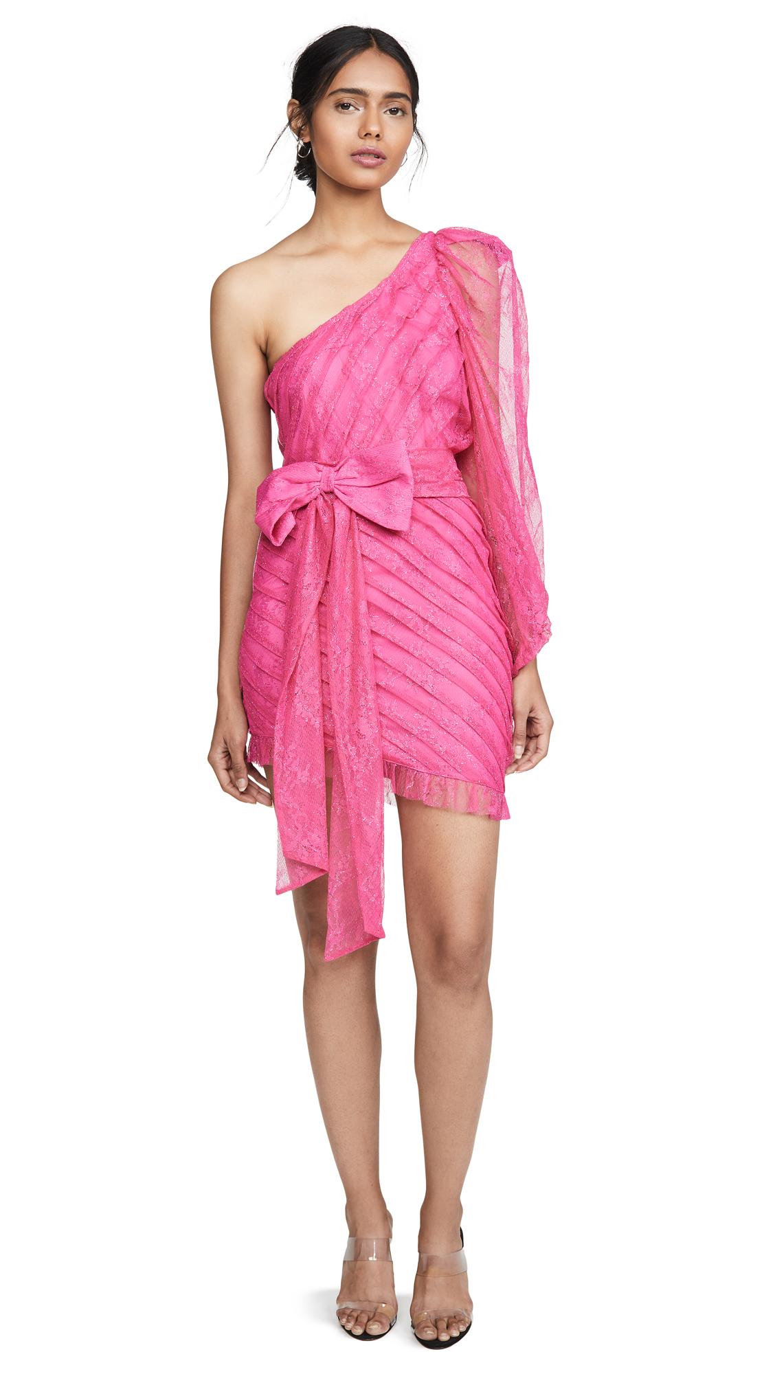 Buy For Love & Lemons online - photo of For Love & Lemons Dynasty One Shoulder Dress