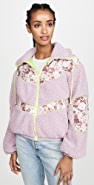 For Love & Lemons Sloane Shearling Jacket