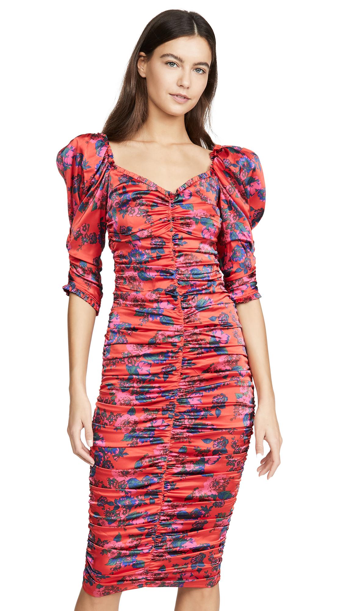 Buy For Love & Lemons online - photo of For Love & Lemons Monet Midi Dress