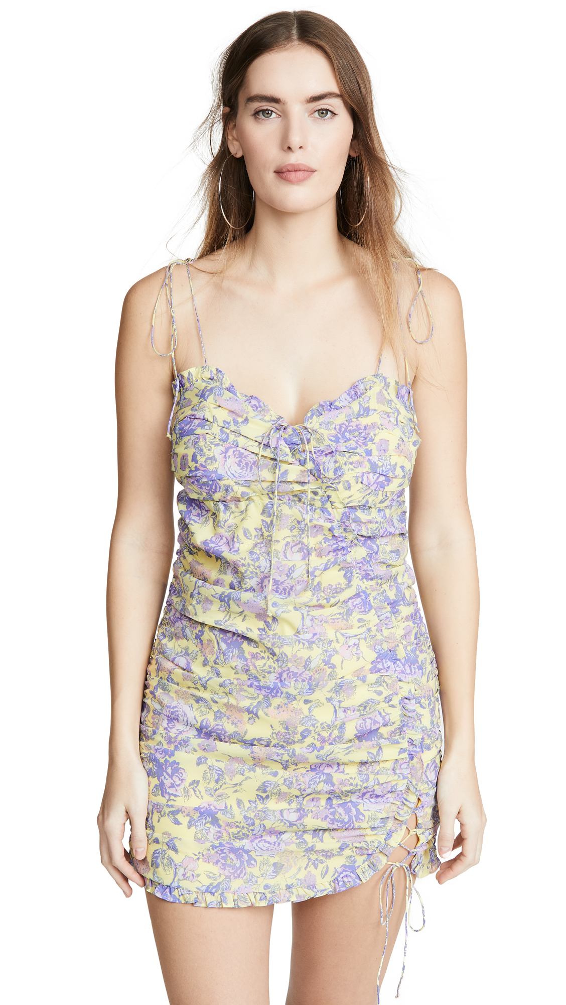 Buy For Love & Lemons online - photo of For Love & Lemons Maui Mini Dress