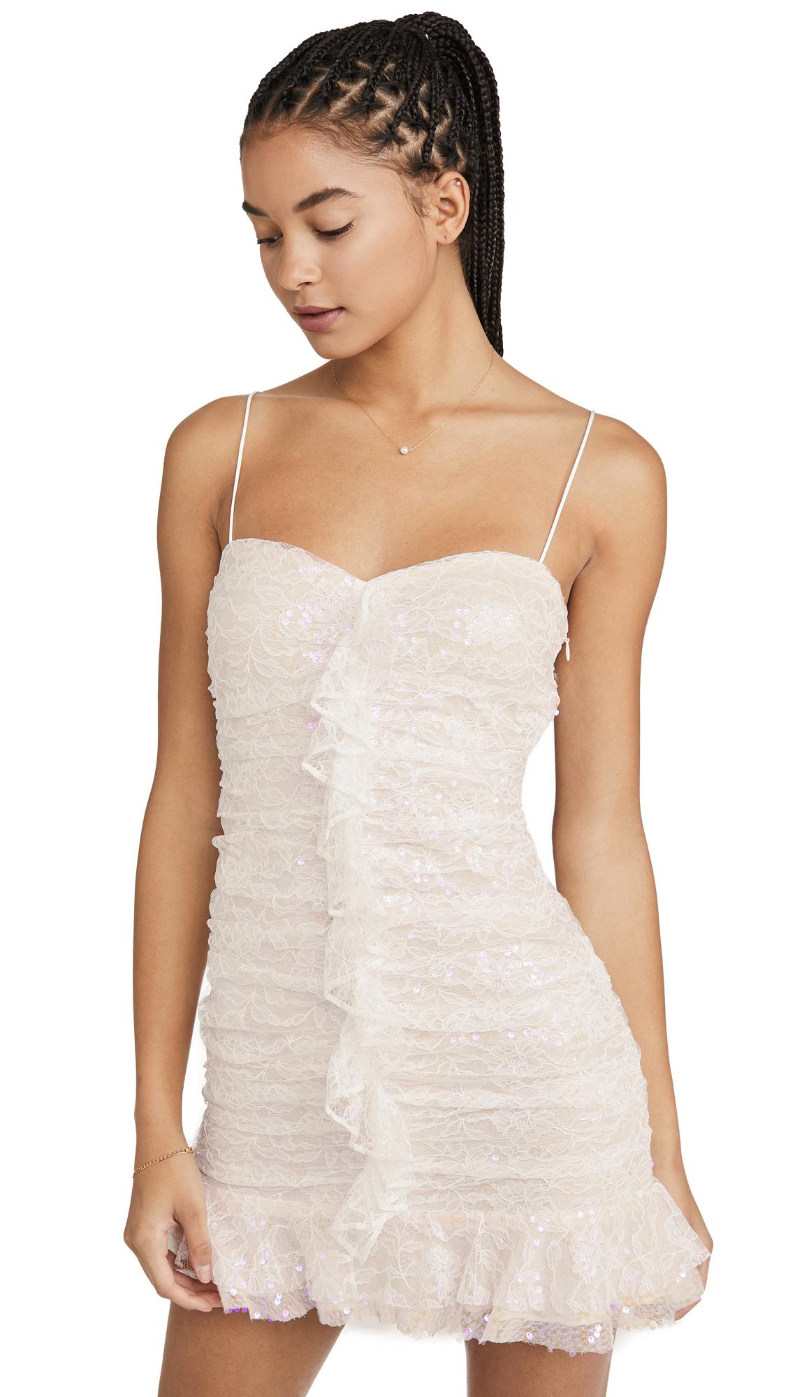 Buy For Love & Lemons online - photo of For Love & Lemons Robin Iridescent Mini Dress
