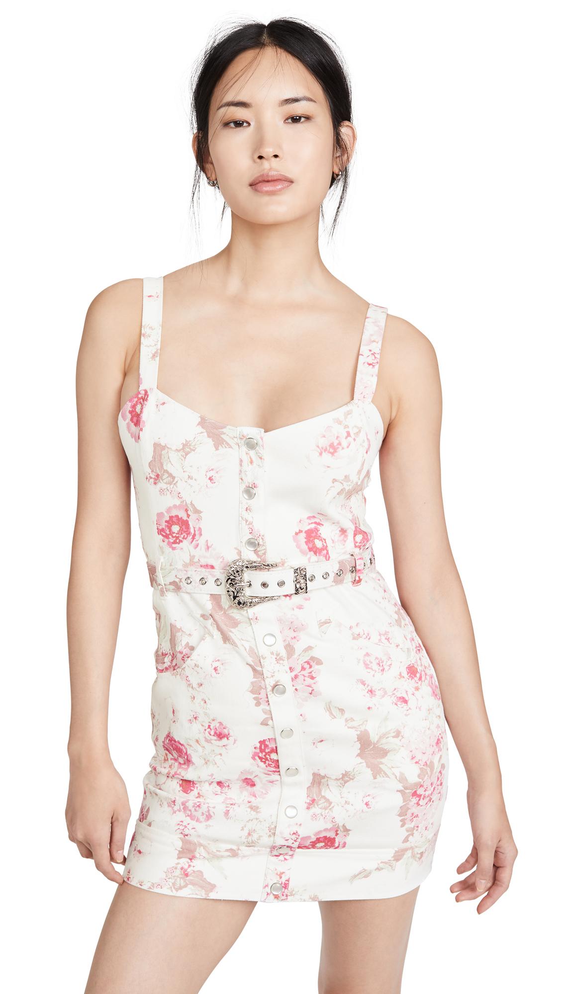 Buy For Love & Lemons Weston Denim Mini Dress online beautiful For Love & Lemons Clothing, Dresses