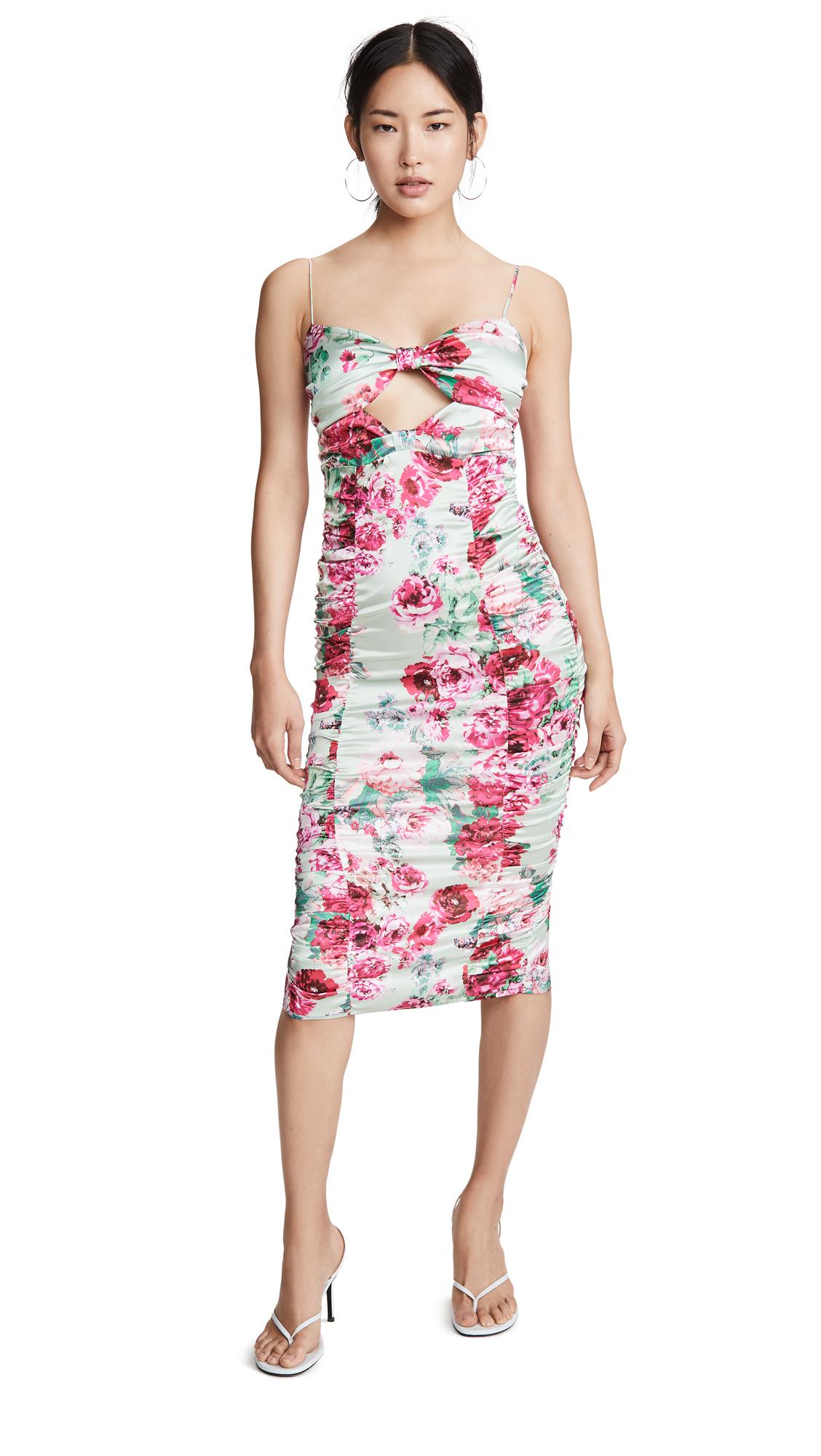 Buy For Love & Lemons Robin Floral Midi Dress online beautiful For Love & Lemons Clothing, Dresses
