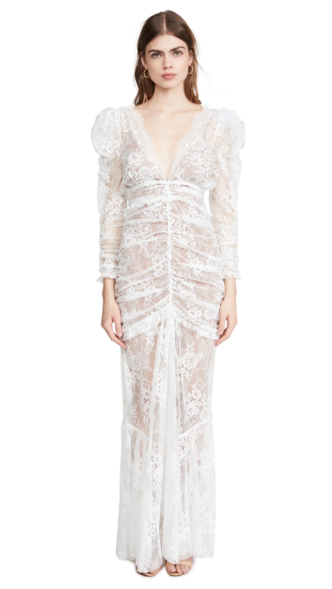 For Love & Lemons Cheyenne Lace Maxi Dress - 30% Off Sale
