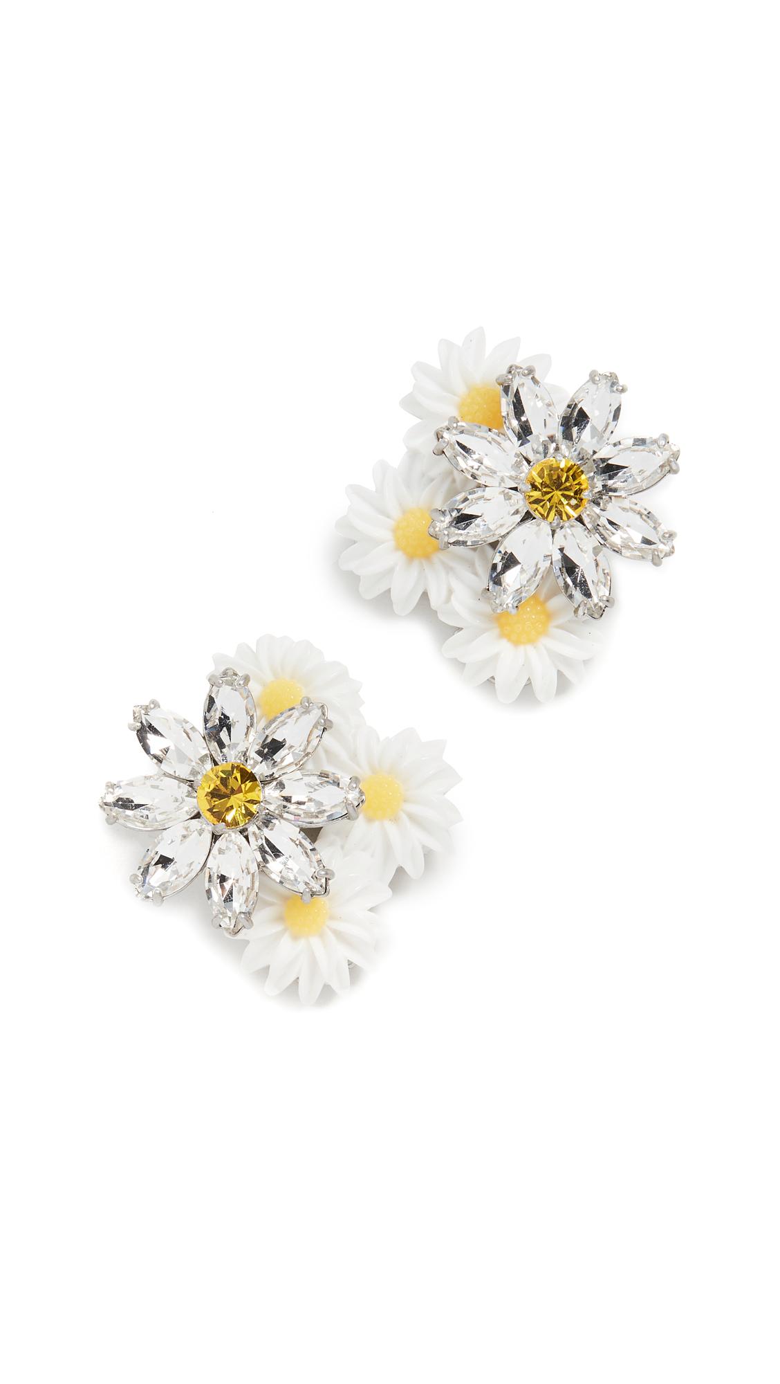 For Love & Lemons Posy Drop Earrings