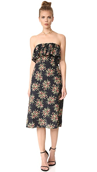 Flynn Skye Fiona Midi Dress - Night Desire