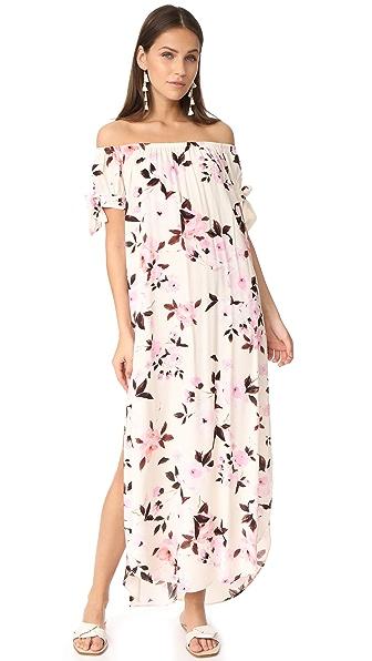 Flynn Skye Maple Maxi Dress - Scattered Roses
