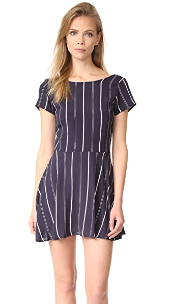 Flynn Skye Hayley Mini Dress - Sailor Stripe