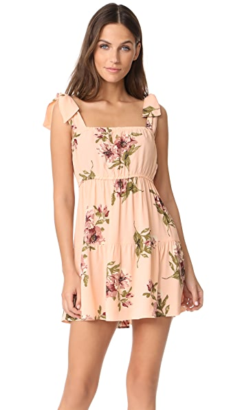 Flynn Skye Maria Mini Dress - Blush Gathering