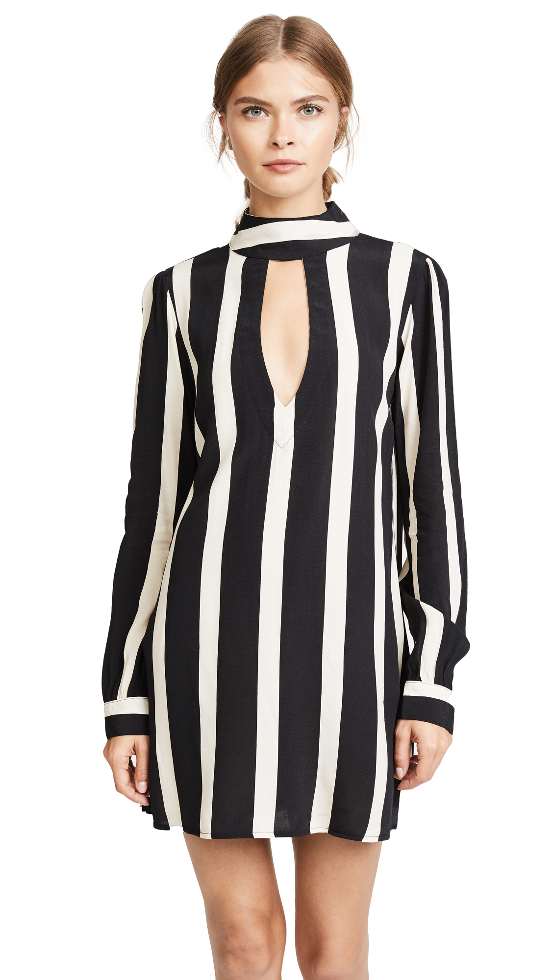 Flynn Skye Leah Mini Dress - Bold Stripe