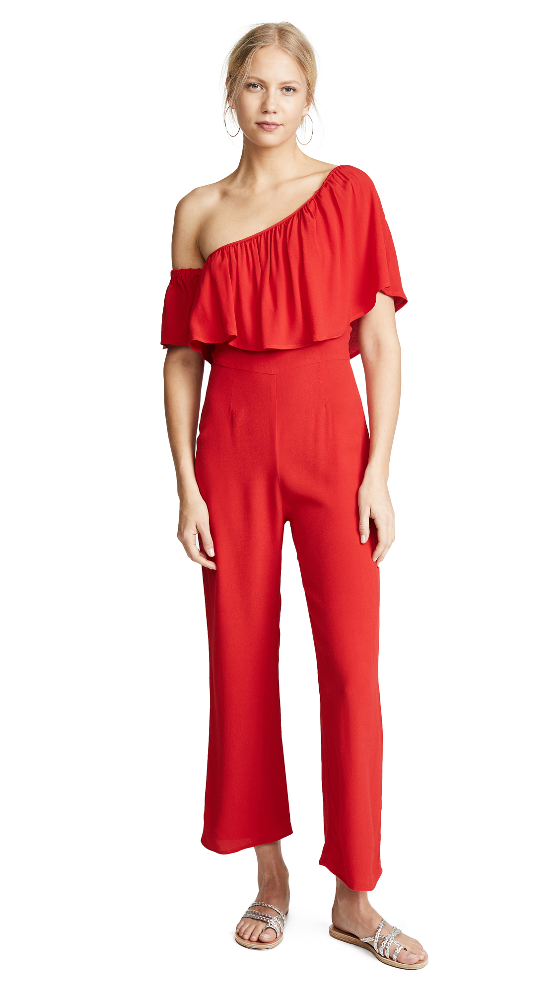 Flynn Skye Claire Jumpsuit In Kiss My Lips