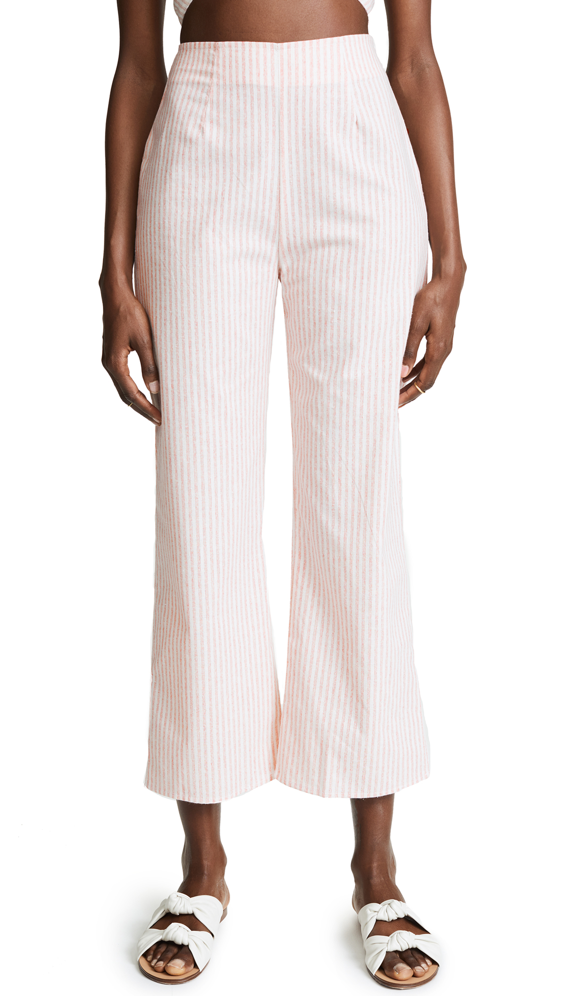 FLYNN SKYE Parker Pants in Rose Stripe