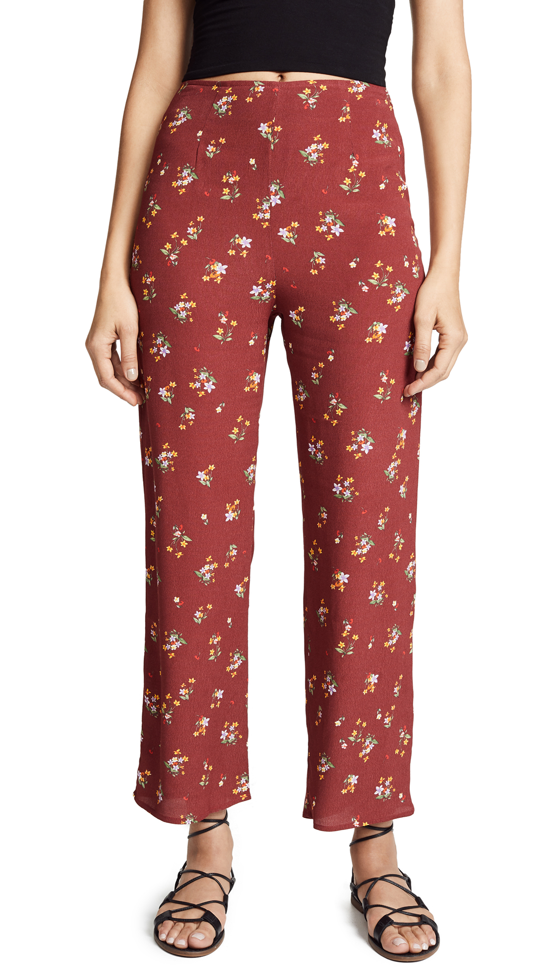 FLYNN SKYE Parker Pants in Autumn Bunches