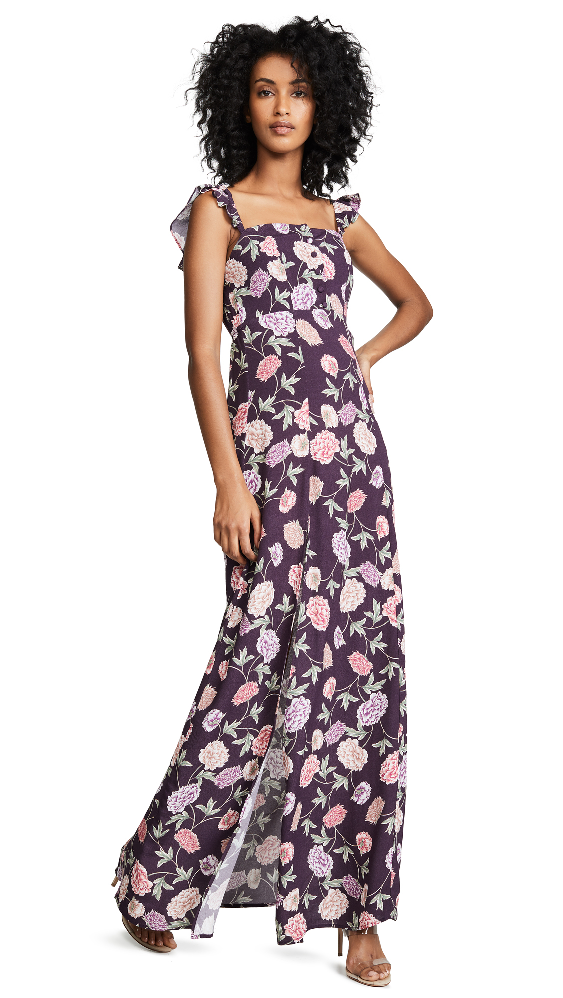 Flynn Skye Bardot Maxi Dress - In Full Bloom