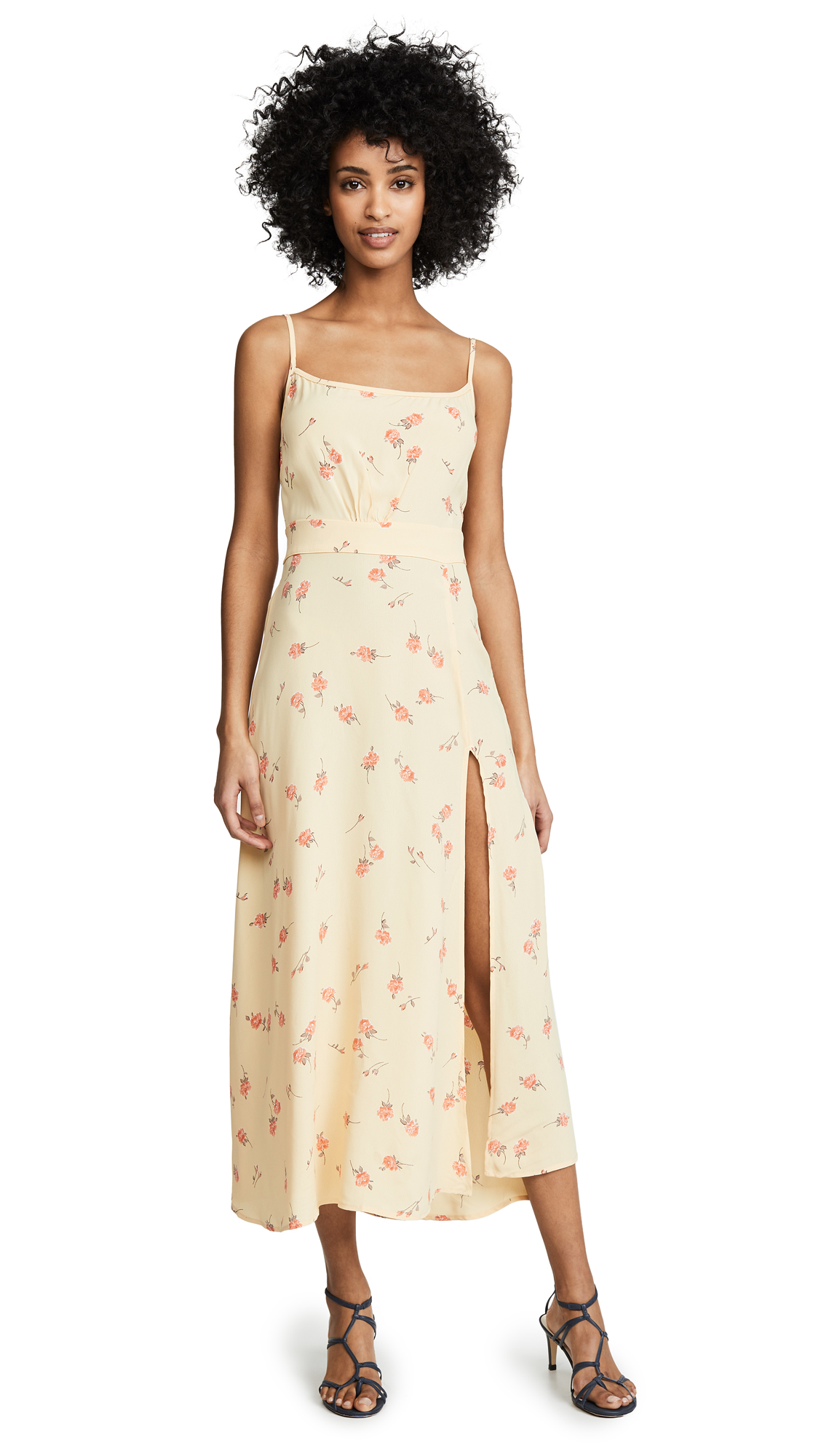Flynn Skye Hazel Midi Dress - Sunshine Blooms