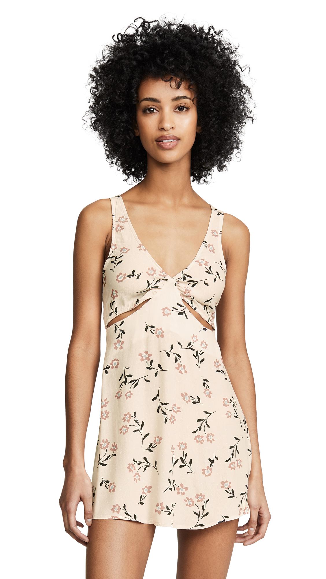 Flynn Skye Liza Mini Dress - Floral Portrait