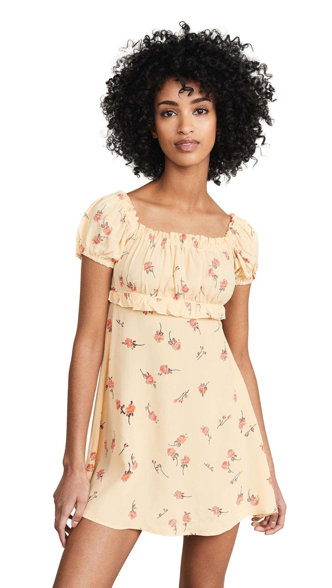 Flynn Skye Lou Mini Dress - Sunshine Blooms