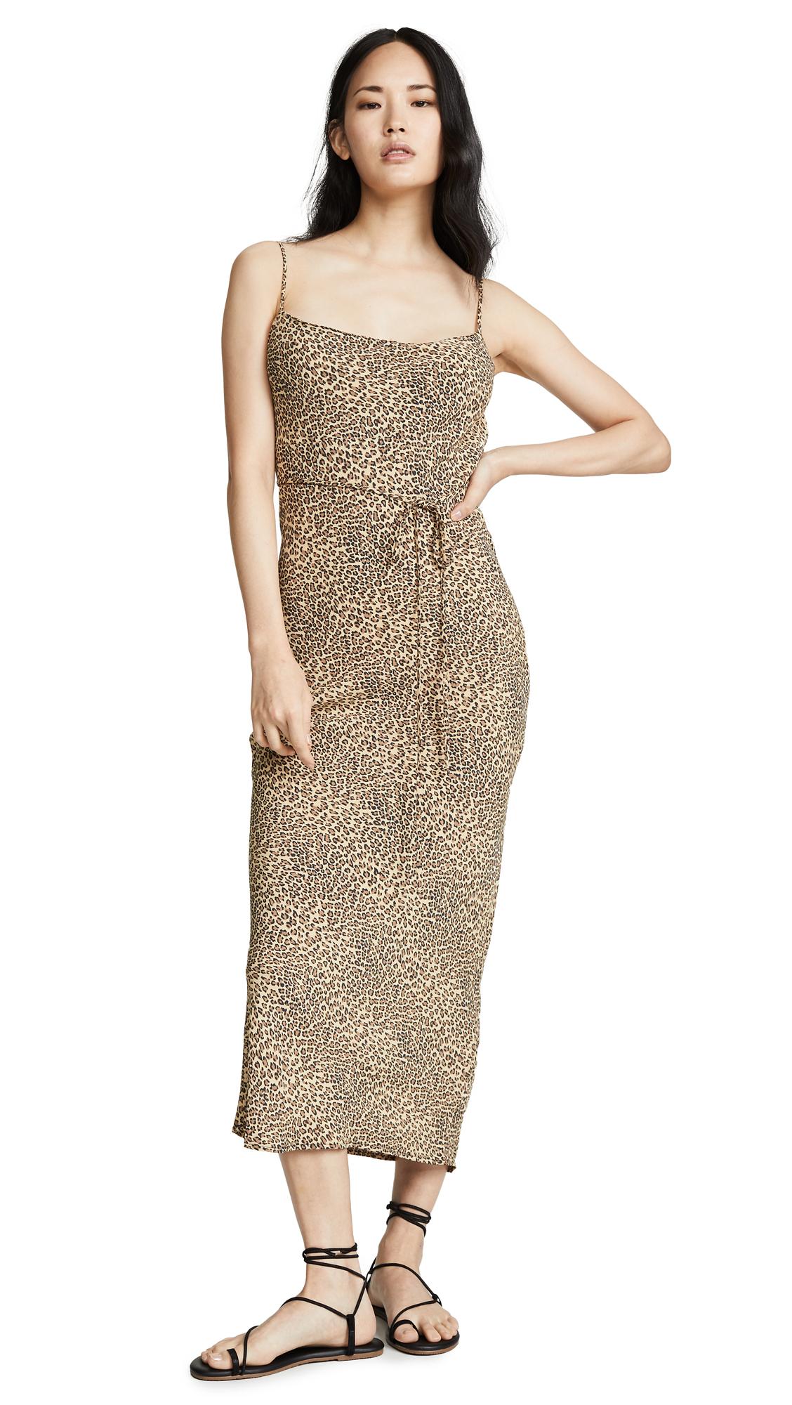 Flynn Skye Jackie Slip Dress - Animal Print