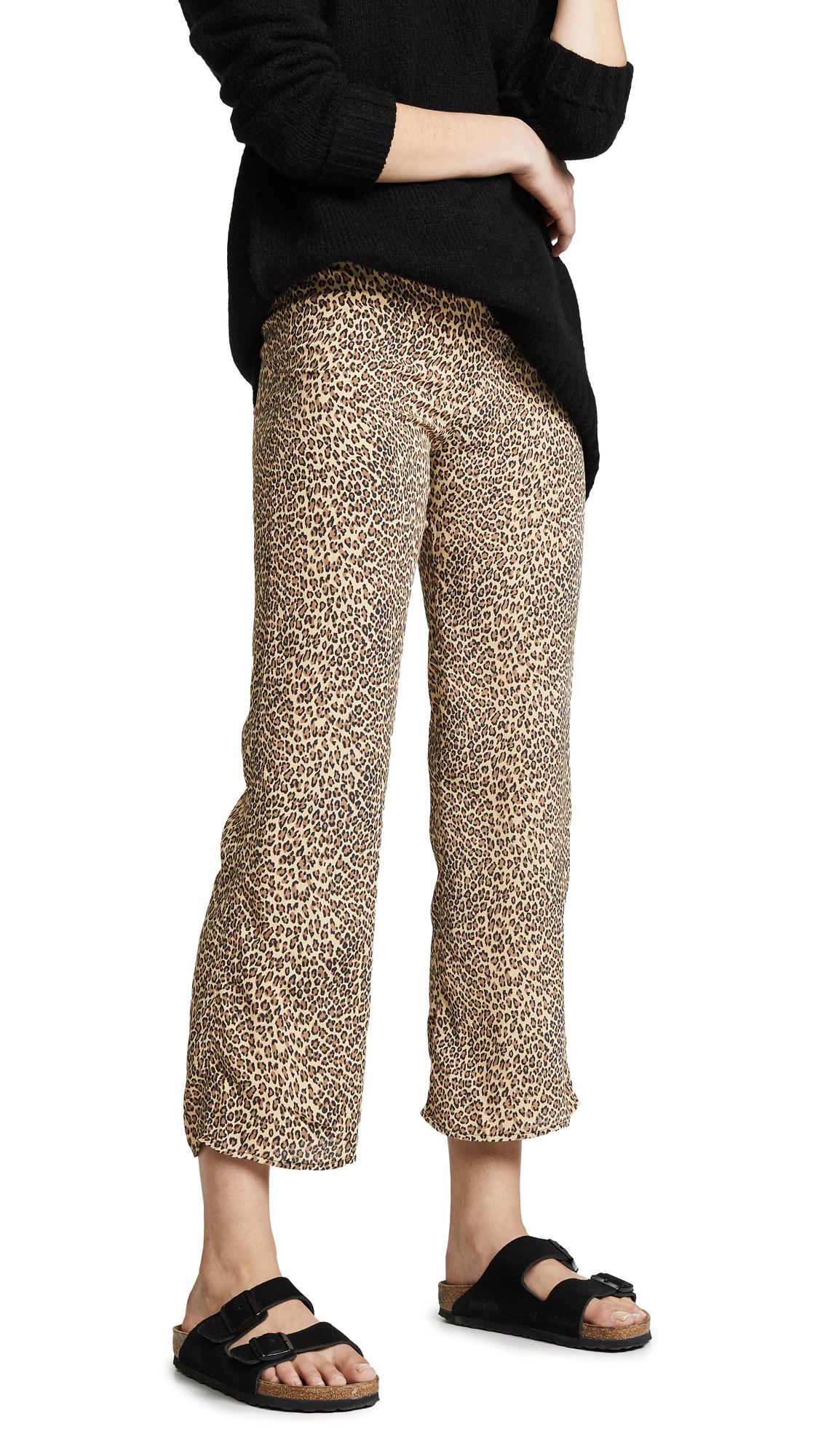 Flynn Skye Parker Pants - Animal Print