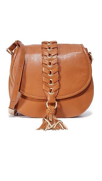 Foley + Corinna La Trenza Saddle Bag - Honey Brown