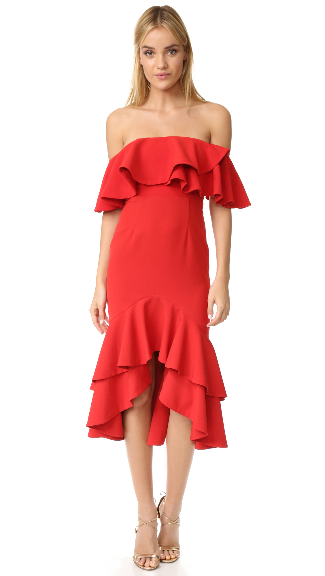 Fame and Partners Sasha Dress - Red