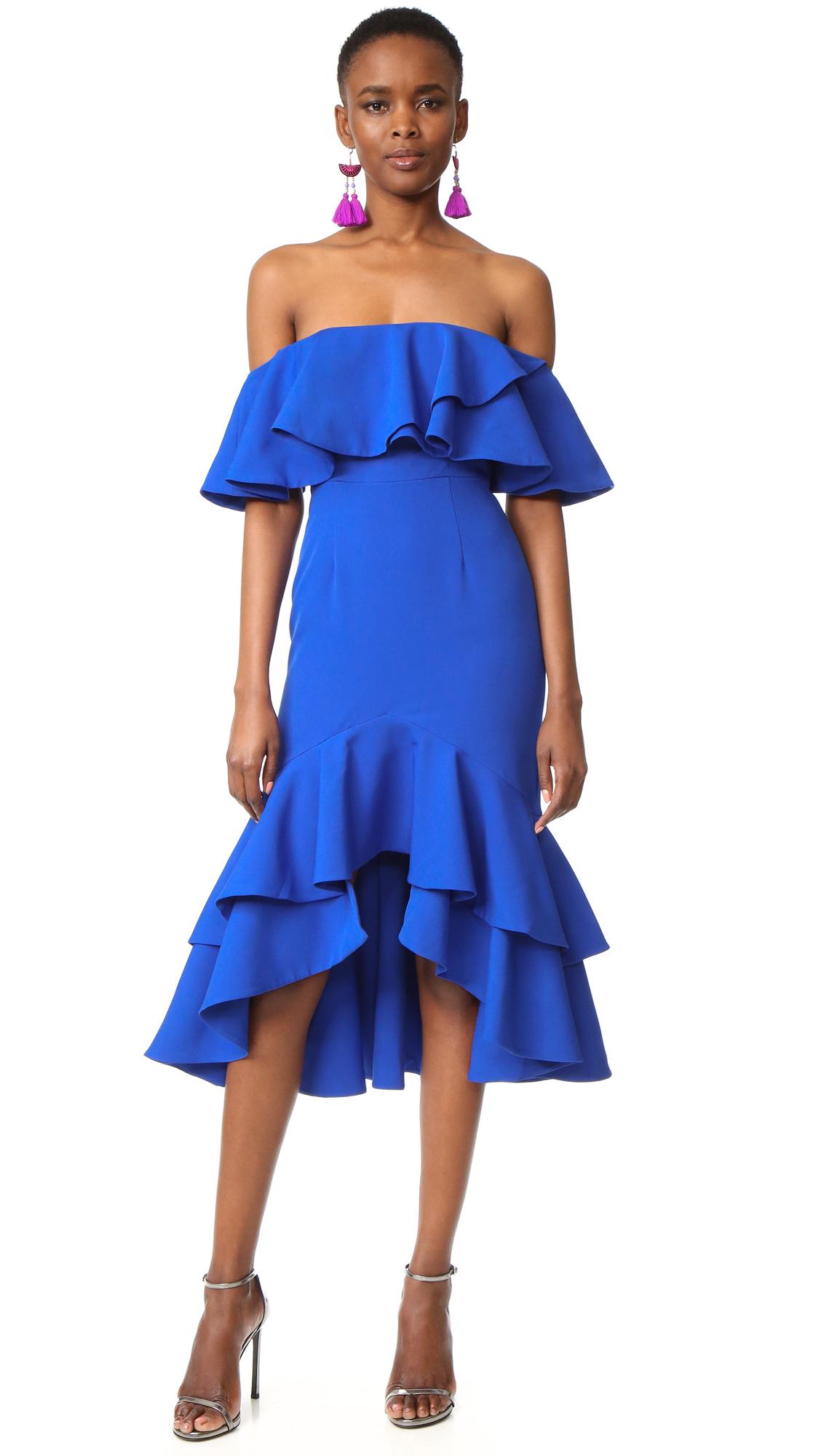 Fame and Partners Sasha Dress - Azure