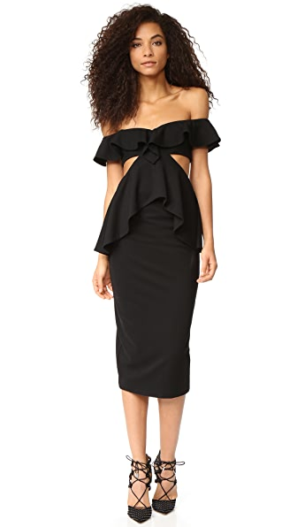 Fame and Partners Firefly Dress - Black