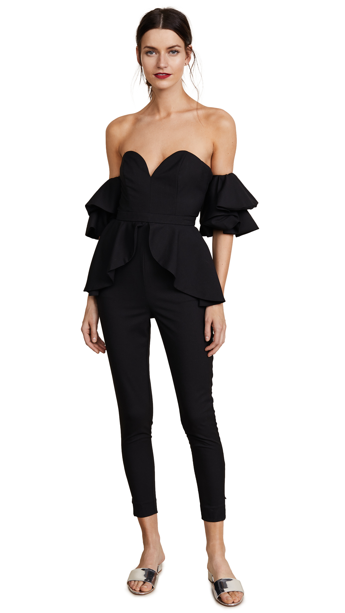 Fame and Partners The Perry Jumpsuit - Black