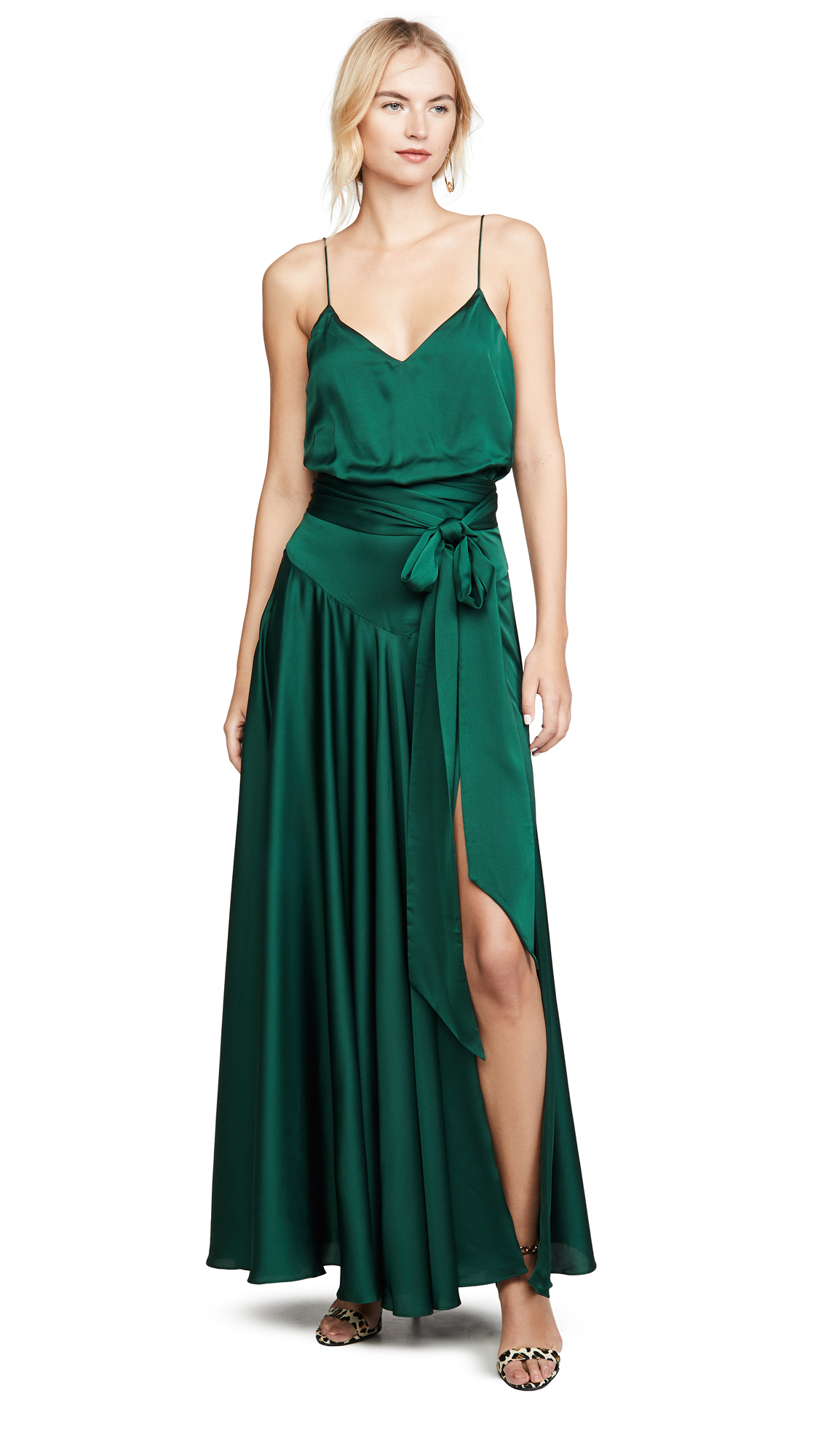 Buy Fame and Partners Blouson Tie Waist Dress online beautiful Fame and Partners Dresses, Strapless