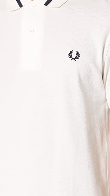 Fred Perry Reissues Single Tipped Polo Shirt