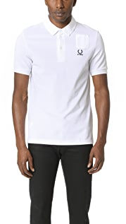 Fred Perry Denim Pocket Pique Shirt