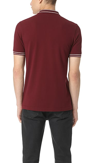 Fred Perry Tramline Tipped Pique Shirt
