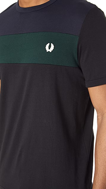 Fred Perry Panel Tee