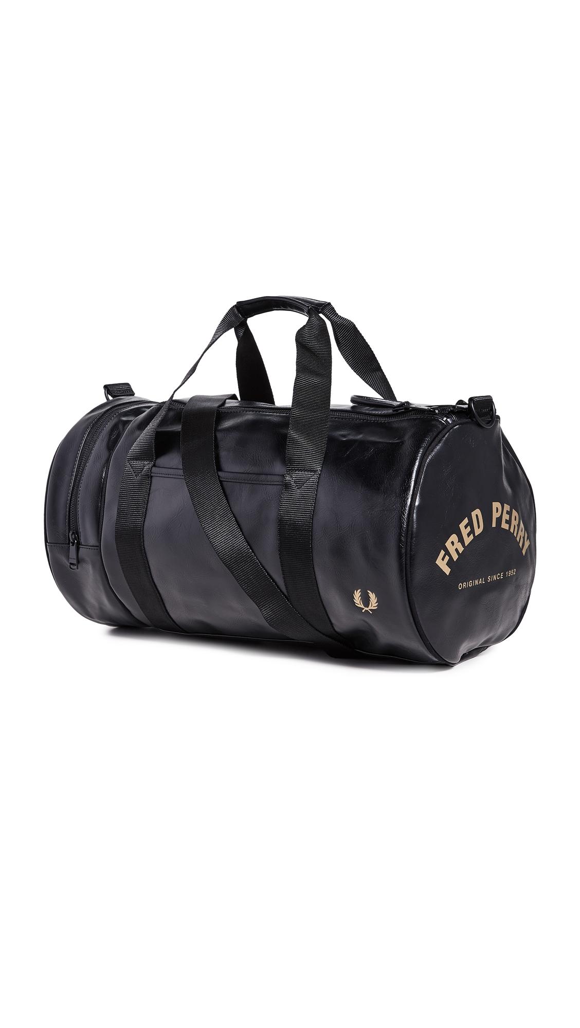 Fred Perry Bags TONAL PU BARREL BAG