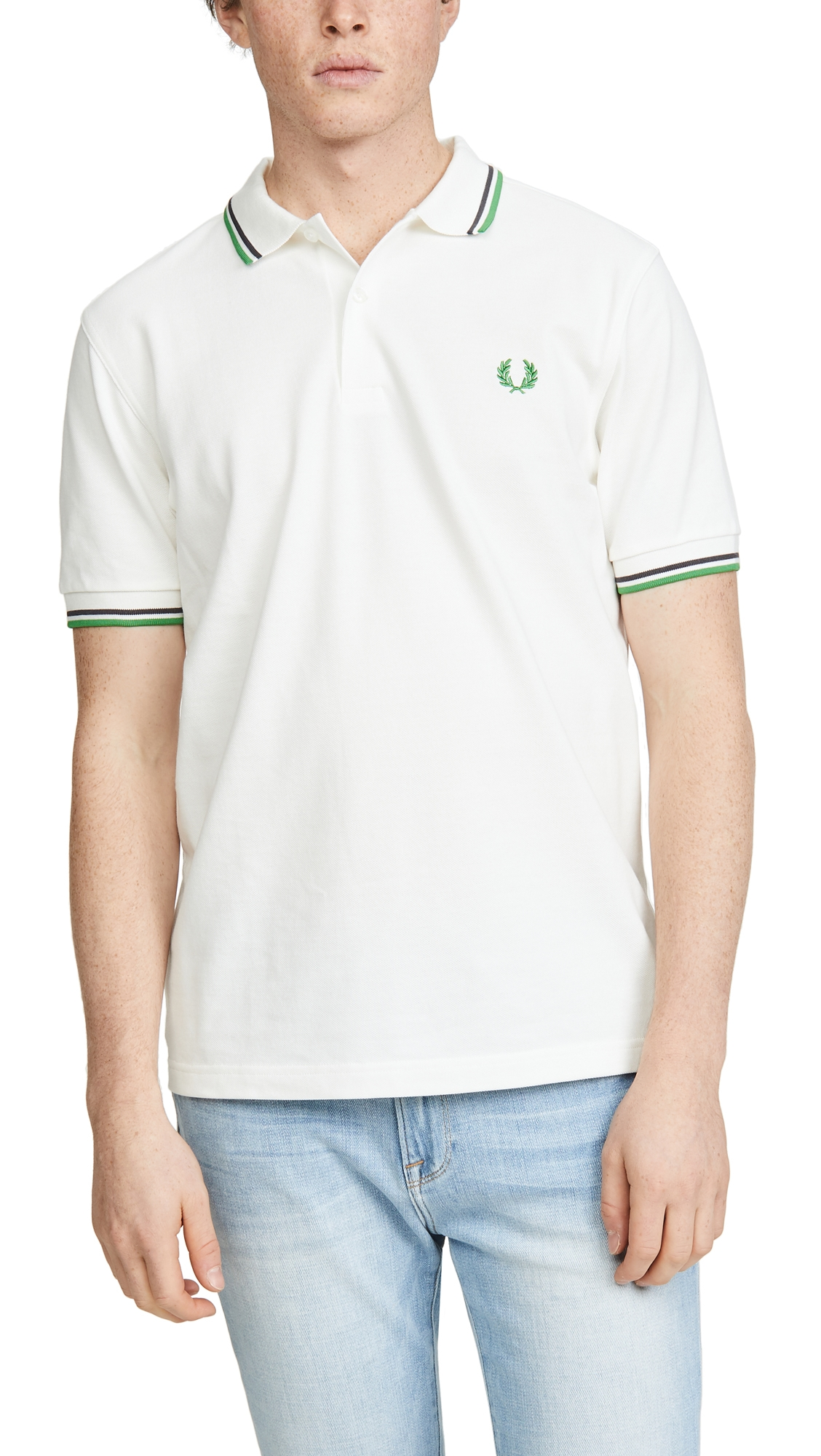 Fred Perry T-shirts CONTRAST TRIM POLO SHIRT