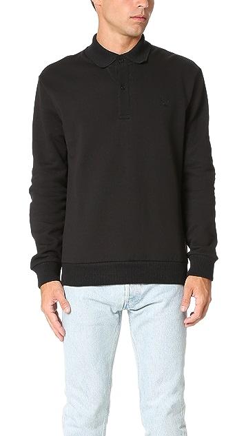 Fred Perry by Raf Simons Flat Knit Collar Sweatshirt