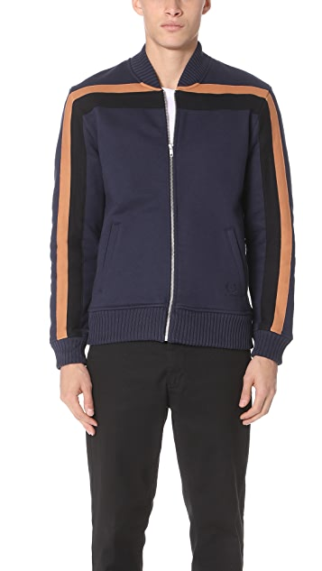 Fred Perry by Raf Simons Sweat Bomber Jacket