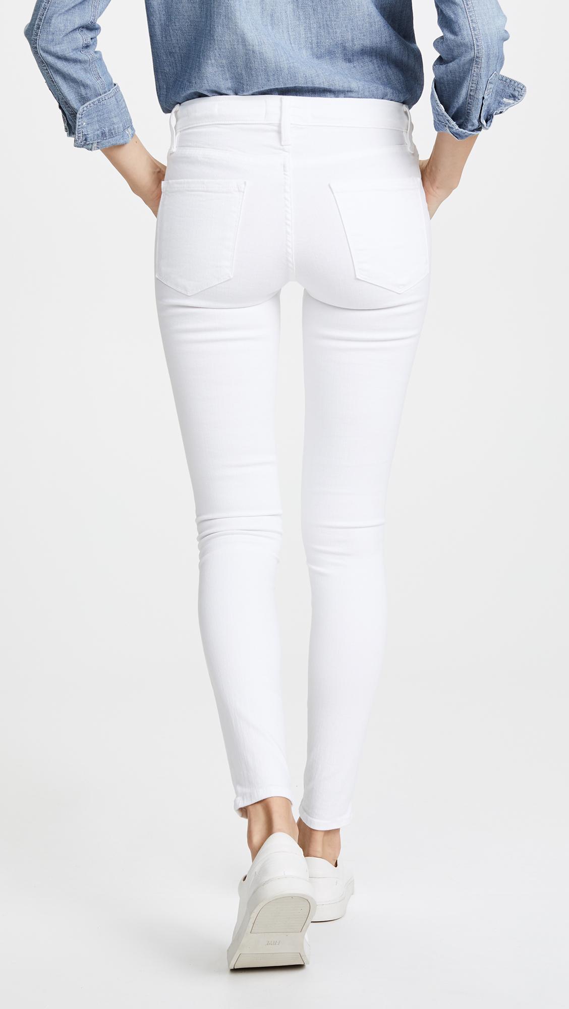 FRAME Le Color Cropped Skinny Jeans | SHOPBOP