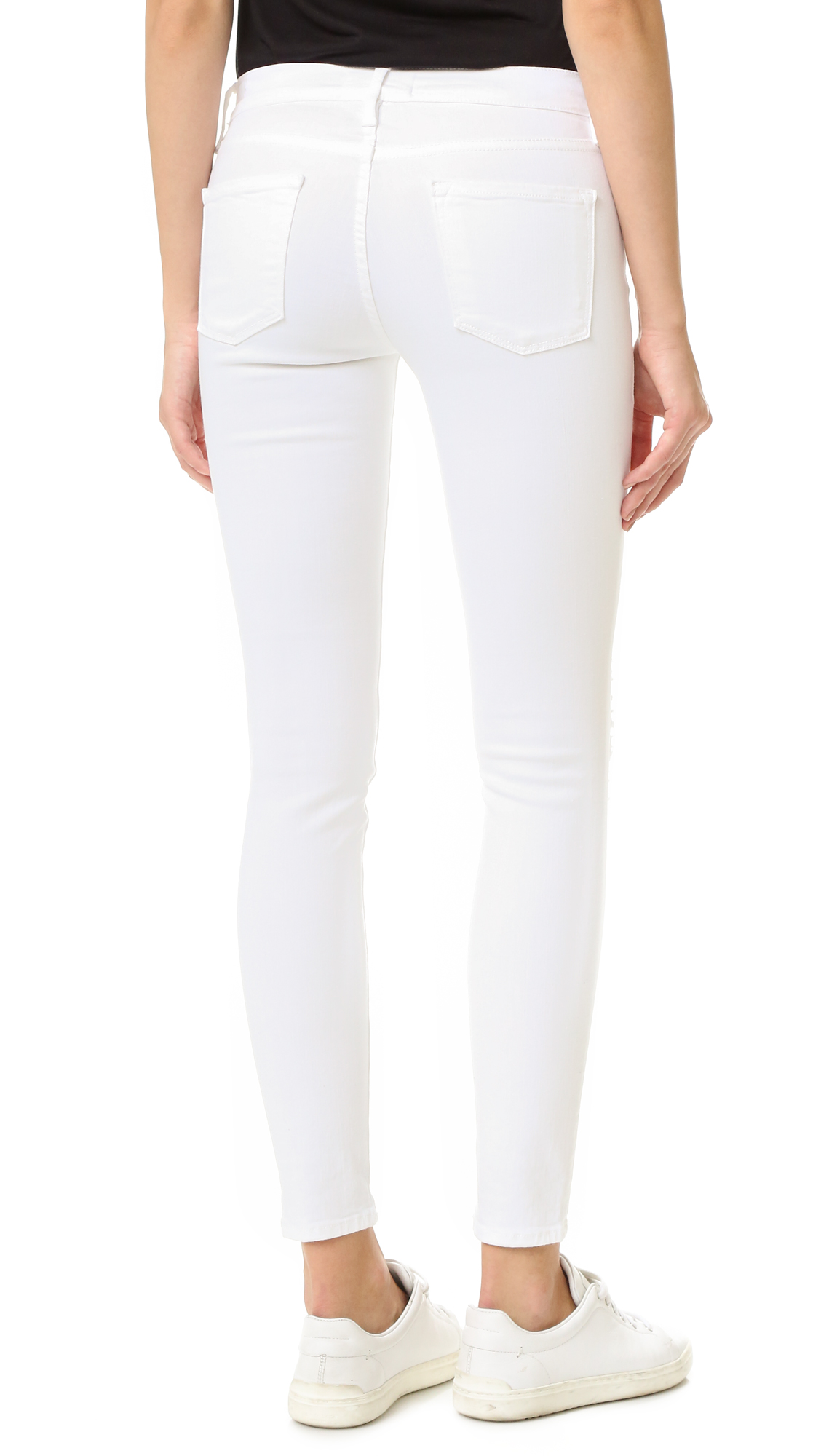 FRAME Le Color Rip Skinny Jeans | SHOPBOP Extra 25% Off Sale ...