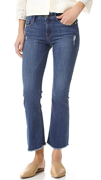 FRAME Le Cropped Mini Boot Jeans