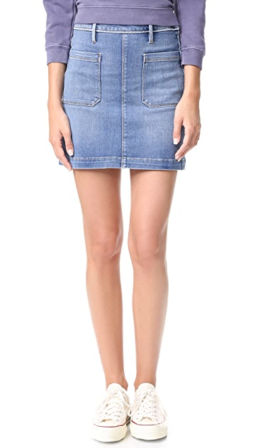 FRAME Le Patch Pocket Skirt