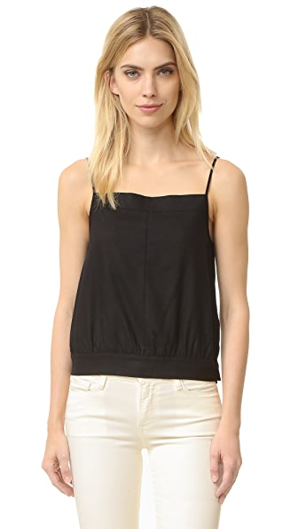 FRAME Le Raw Silk Tank