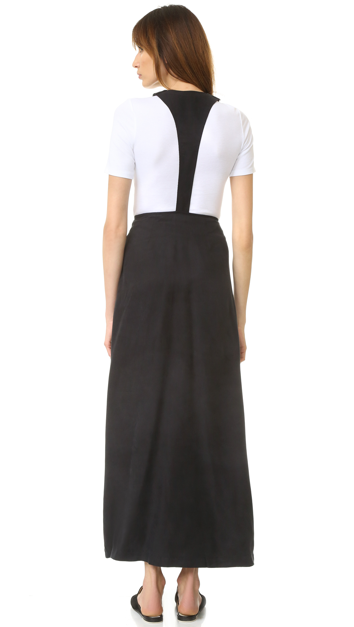 frame le cupro overall dress shopbop