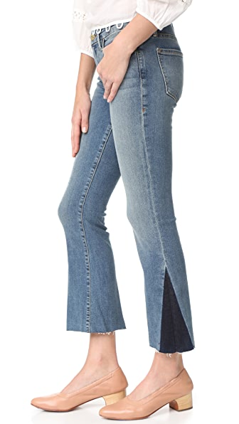 FRAME Le Crop Mini Boot Cut Jeans