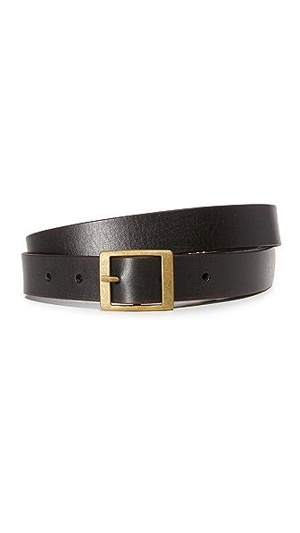 FRAME Slim Heritage Belt