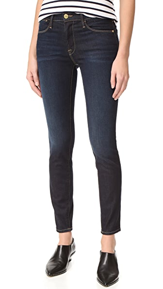 FRAME Le High Skinny Jeans - Edgeware