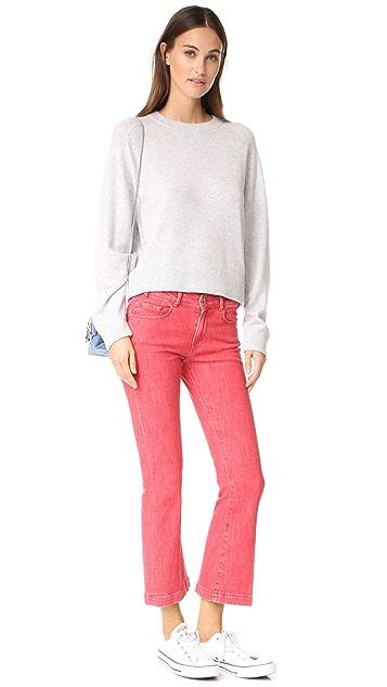 FRAME Le Color Crop Mini Boot Jeans