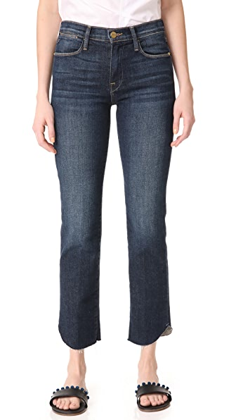 FRAME Le High Straight Jeans - Louiston