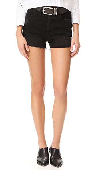 FRAME Le Original Tulip Shorts In Nightingale